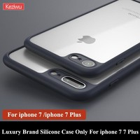 For iphone 7 Case Ultrathin 0.38 MM Transparent Phone Case For iphone 7 7 Plus Soft  Silicone Case For iphone 7 7Plus BA220