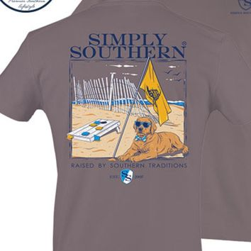 """Simply Southern """"Raised By Southern Tradition"""" Tee"""