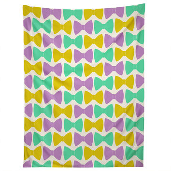 Allyson Johnson Bright Bow Ties Tapestry