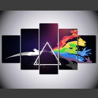 Pink Floyd Rabbit Canvas