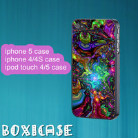 Colorful Abstract Art--iphone 4 case,iphone 5 case,ipod touch 4 case,ipod touch 5 case,in plastic,silicone,cute iphone 4 case,ipod 5 case