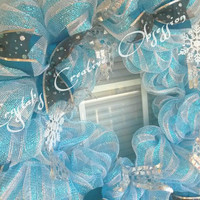 Christmas/ Winter Wreath, Holiday decor
