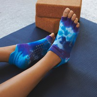 Free People Tie Dye Grip Yoga Sock