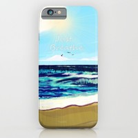Just Breathe iPhone & iPod Case by Stay Inspired | Society6