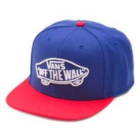 Vans Home Team Snapback Hat (Blue Depths/Reinvent Red)