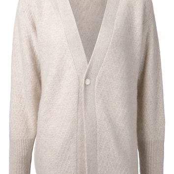 The Elder Statesman zigzag pattern cardigan