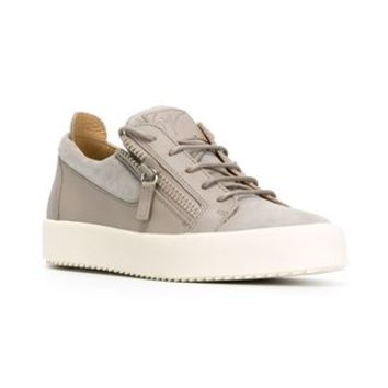 Giuseppe Zanotti Design Zip Detail Low Sneakers - Iil7 - Farfetch.com