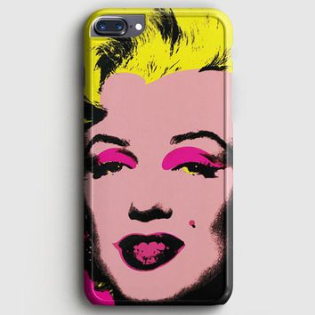 Andy Warhol Marilyn Monroe Pop Art Iconic Colorful Superstar Cute iPhone 7 Plus Case