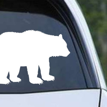 Bear Silhouette (b) Die Cut Vinyl Decal Sticker