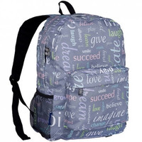 Monogram Backpack and Lunch Bag Set - Wildkin - Personalized - Inspiration - Back to School Crackerjack