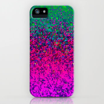 Glitter Dust Background G177 iPhone & iPod Case by MedusArt