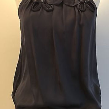 VIOLET & CLAIRE SLATE GRAY TOP
