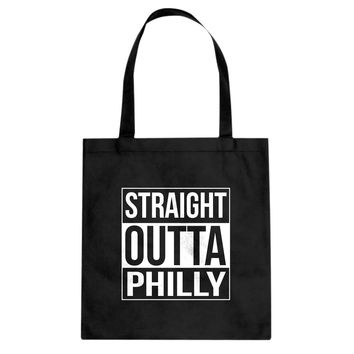 Straight Outta Philly Cotton Canvas Tote Bag