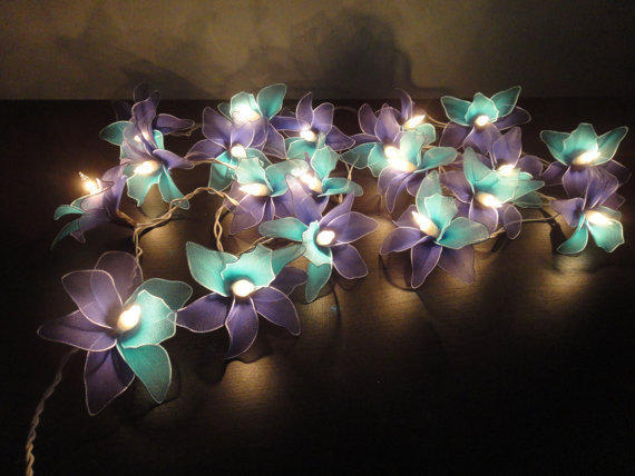 20 Blue-Deep blue-Orchid Flower Fairy from marwincraft on Etsy