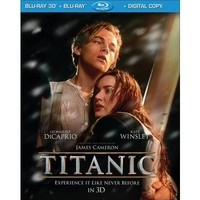 Titanic in 3D (4 Discs) (Includes Digital Copy) (UltraViolet) (3D/2D) (Blu-ray) (Restored / Remastered)