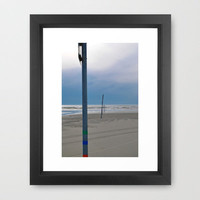 To The Sea Framed Art Print by Upperleft Studios | Society6