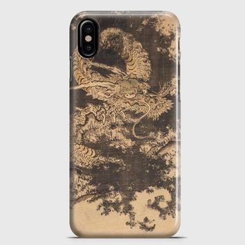 Japanese Dragon Painting iPhone X Case | casescraft