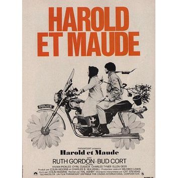 Harold And Maude French Poster Standup 4inx6in