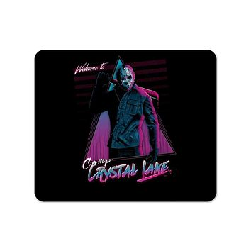 Welcome to camp Crystal Lake Mouse Pad