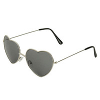 Heart Shaped Aviator Sunglasses   Shop Accessories at Wet Seal