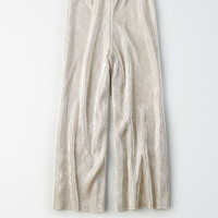 Don't Ask Why Metallic Culotte, Silver