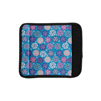 "Julia Grifol ""Floral Winter"" Luggage Handle Wrap"