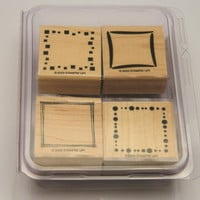 Retired Stampin' Up Around and About Rubber Stamp Set