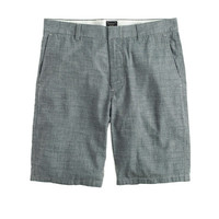 "J.Crew Mens 10.5"" Club Short In Japanese Chambray"