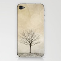 Snow Bokeh Wonderland  iPhone & iPod Skin by Laura Ruth  | Society6
