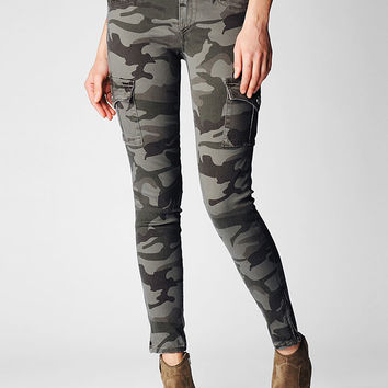 Hand Picked Skinny Camo Cargo Womens Pants - Hand Picked | True Religion Brand Jeans