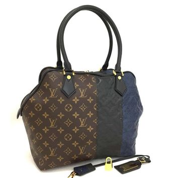 Louis Vuitton Marine Satchel Tri Color LIKE NEW 5635 (Authentic Pre-owned)