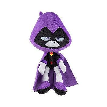 """Teen Titans Go! RAVEN 6"""" Scale Plush - Officially Licensed Jazwares - NEW W/TAGS"""