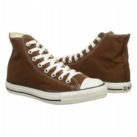 Women's | Converse Chuck Taylor High Top Sneaker - Chocolate - FREE SHIPPING at Shoes.com