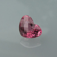 Tourmaline Heart Shape Over 5cts Large Pink Gemstone for Engagement or Anniversary Ring October Birthstone