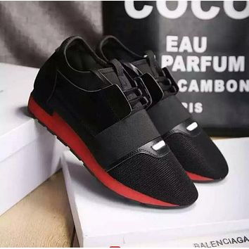 BALENCIAGA red fashion casual shoes