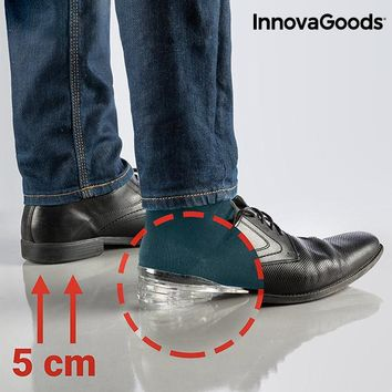 InnovaGoods Silicone Lifting Insoles and Heel Pads 5 x 1 cm
