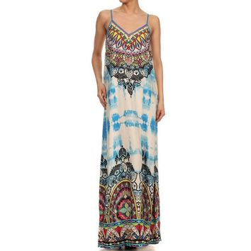 Ashley Tie Dye Maxi Dress