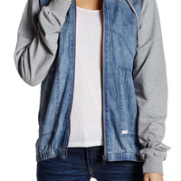 Volcom | Sea Enemy Hooded Denim Jacket | Nordstrom Rack