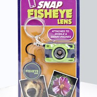 Fish Eye Lense Attach To Smartphone