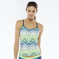 Nike Printed Tankini Top