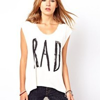 Your Eyes Lie Rad Muscle T-Shirt at asos.com