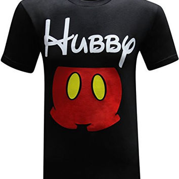 Hubby & Wifey Matching Couples Funny T-Shirt