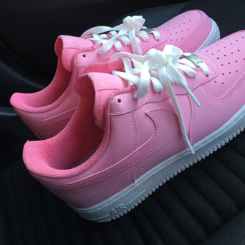 Nike Air Force One Limited Pink edition