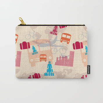 Travel Fever Carry-All Pouch by Mirimo