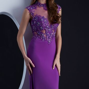 Beaded Long Gown by Jasz Couture