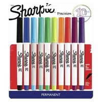 Sharpie Ultra Fine Tip Permanent Markers - 10ct