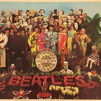 The Beatles - Sgt. Pepper's Lonely Hearts Club Band (LP, Album, RE, Win)