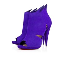 Belfeconica 120 Purple Pop Suede - Women Shoes - Christian Louboutin