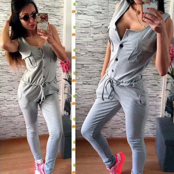 Women's sexy jumpsuit significant figure