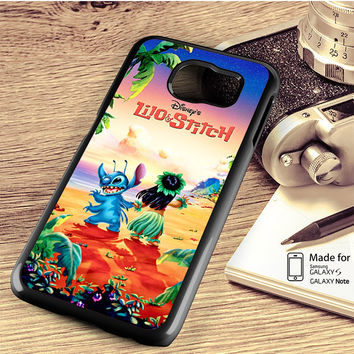 lilo and stitch disney poster Samsung Galaxy S4 Case, S5 Case, S6 Case, S6 Edge Case, S6 Edge Plus Case, S7 Case, S7 Edge Case, Note 3 Case, Note 4 Case, Note 5 Case, Note Edge Case